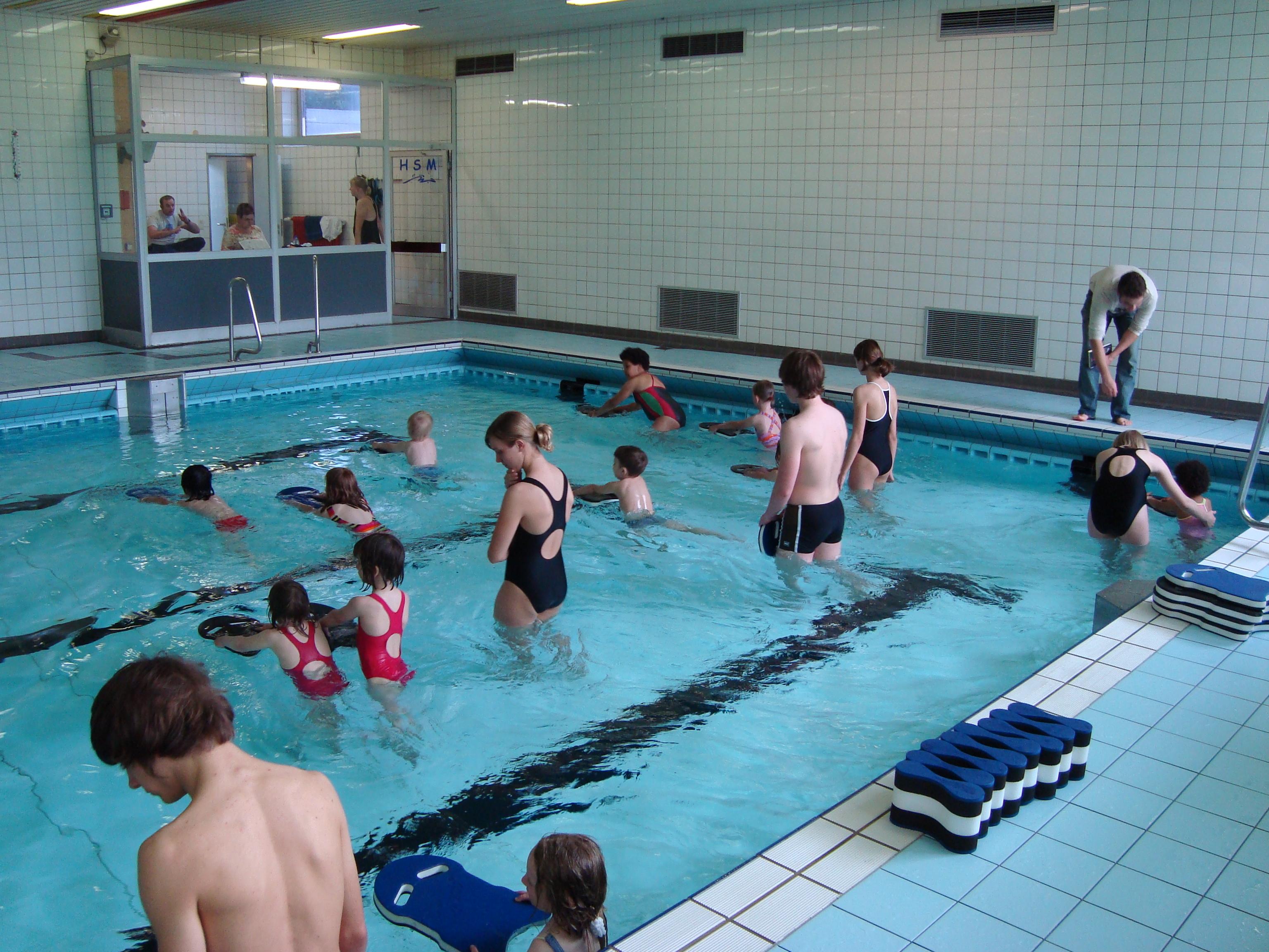 Eltern-Kind Schwimmen im Dezember 2013